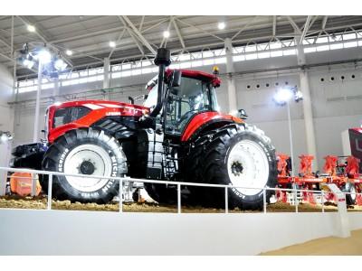 2017武漢國際農機展中國一拖風采