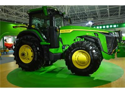 2019青島國際農機約翰迪爾產品風采