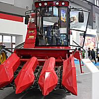 江同4YZP-3A玉米收割机