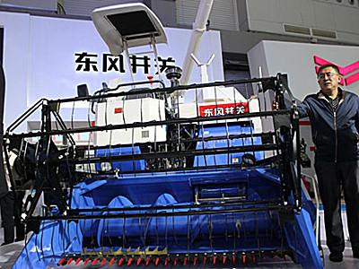 东风井关HC868G型全喂入收割机