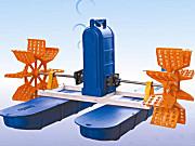 渔超YC-0.75KW三相380V水车式增氧机