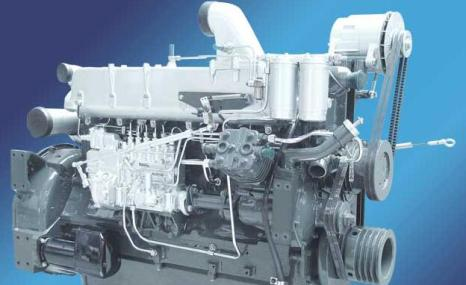 潍柴斯太尔WD615系列柴油机