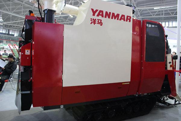 洋馬4LBZJ-140D(AG600G)半喂入聯合收割機