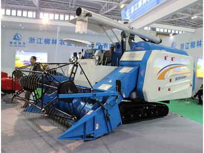 柳林4LZ-4.0B履带式谷物联合收割机
