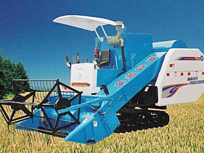 柳林4LZ-4.0A全喂入水稻联合收割机