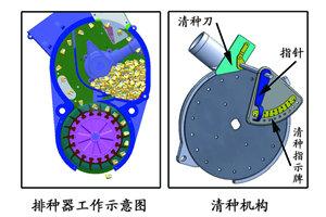 农哈哈2BYQF-4气吸式玉米播种机细节