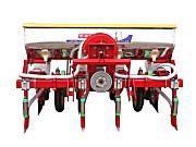 农哈哈2BYQF-4气吸式玉米播种机