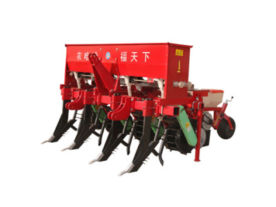 农哈哈2BMSQFY-4玉米免耕深松全层施肥精播机