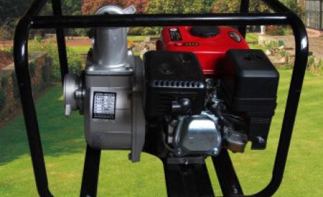 刚毅JLWQCZ80-30汽油机自吸泵