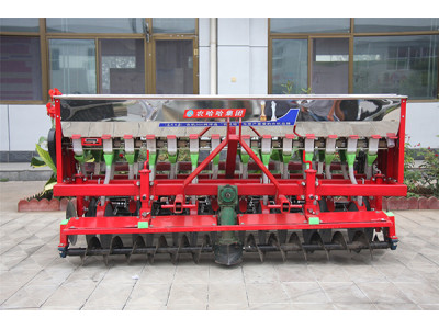 农哈哈2BXF-14动力合墒小麦圆盘播种机
