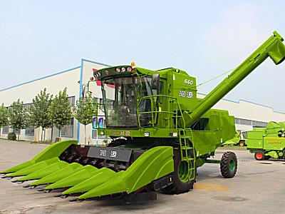 潤源4YZ-6(G60)玉米籽粒收割機