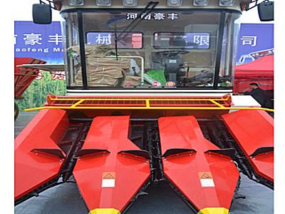 豪豐4YZ-3自走式玉米收獲機