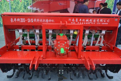 豪丰2BXS-12A免耕施肥播种机