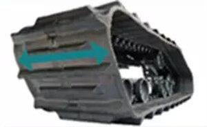 久保田4LBZ-172B(PRO888GM)半喂入联合收割机履带