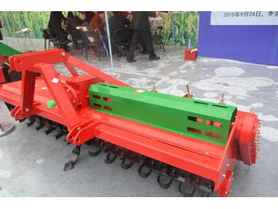 豪丰1GQNM-250S双轴水田灭茬旋耕机