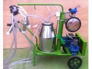 惠農移動式真空奶牛擠奶機