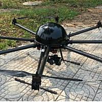 卓誠M8多旋翼植保無人機