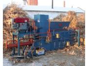 YW125小型秸秆稻麦草打包机