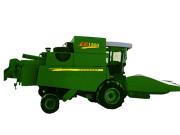 四平东风1300型(4LZ-4)纵向轴流玉米收割机