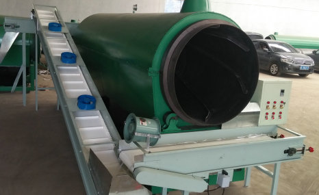 春茗6CCPL-80茶叶连续循环炒干机