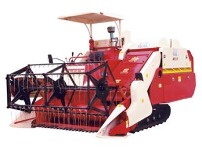 新三王4LD-2.5自走履带式高速水稻联合收割机