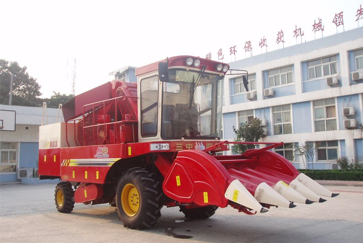 4YZ-3C自走式玉米联合收获机