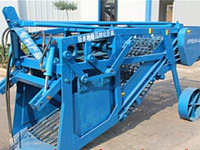河南地隆4YJS-140H型药材挖掘机
