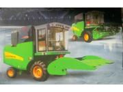 4YL-5自走式玉米籽粒联合收获机