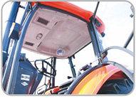 芬美得1404轮式拖拉机豪华驾驶室配置