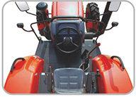 芬美得1404轮式拖拉机操作空间舒适