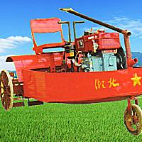 红友HY-6C机耕船