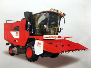 春雨4YZP-4MJ自走式玉米收获机