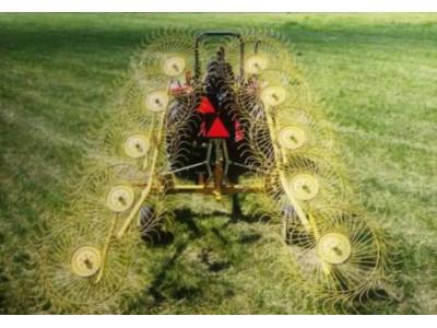 美国威猛Rebel Rake 20型指盘式搂草机