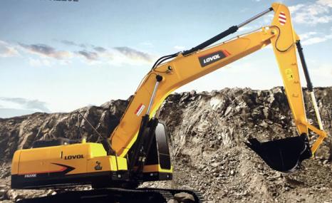 雷沃FR220E挖掘机