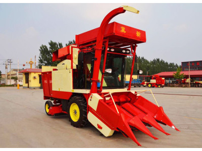 河北冀新4YZBQ−3L自走式茎穗兼收型玉米收获机