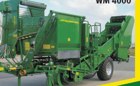 法國WM4000土豆收獲機