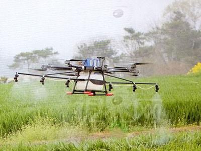 河南安達鳥10升植保無人機