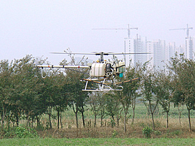 易飞翔10KG油动植保无人机