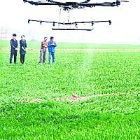 易飛翔20KG電動植保無人機