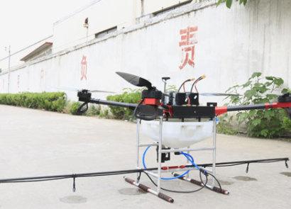 山東唯信15公斤級多旋翼噴藥飛機