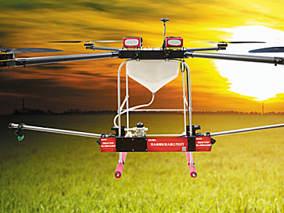 靓马10公斤级农用植保无人机