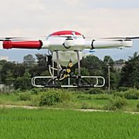 博航3WX6-10A電動六旋翼植保無人機