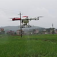 博航3WX12-10A电动十二旋翼植保无人机