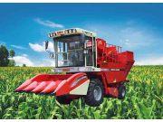 4YZ-4B型玉米联合收获机
