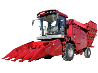 勇猛机械4YZ-4玉米收割机