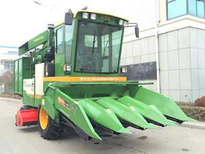 昌宁田英4YZ-3玉米收获机