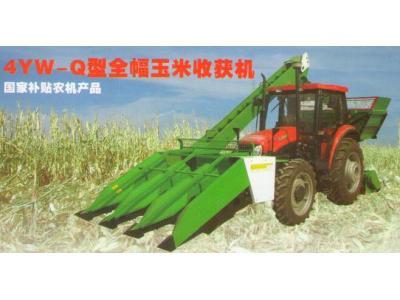 萬通奧特豐4YW-Q背負式玉米收割機