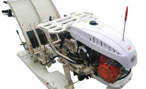 巴山2Z-2手扶式插秧機