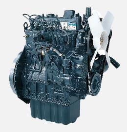 久保田4LBZ-105(PRO208)半喂入聯合收割機發動機