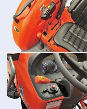 久保田M704KQ拖拉機變速桿及換向桿